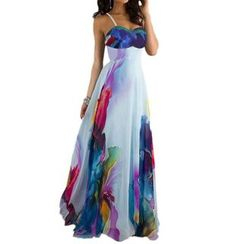Chika - Printed Maxi Dress