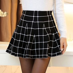 Cobogarden - High-waist Knit Skirt