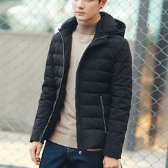 Bay Go Mall - Hooded Down Jacket