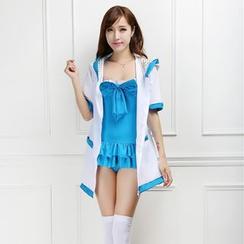 Cosgirl - LoveLive! Kotori Minami Cosplay Costume Set