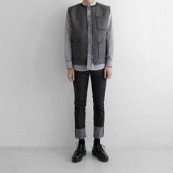 Seoul Homme - Pocket-Front Neoprene Vest
