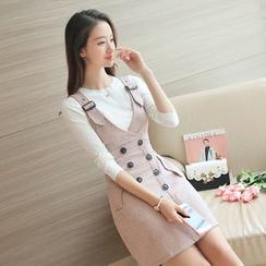 Soraka - 針織衫背帶裙套裝