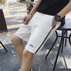 Bay Go Mall - Zip Applique Shorts