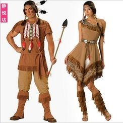 Cosgirl - Indian Matching Couple Party Costume