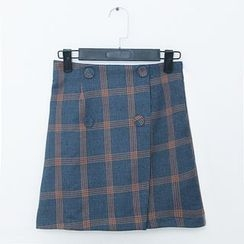 Dowisi - Plaid Skirt