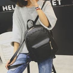 Tasche - Faux Leather Backpack