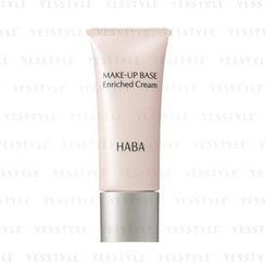 HABA - Make-Up Base Enriched Cream SPF 18 PA+