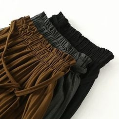 Ranche - Pleated Midi Skirt