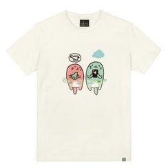 the shirts - 'Envy you' Otter Print T-Shirt