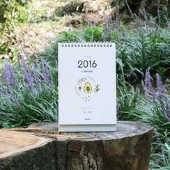 BABOSARANG - 'LITTLE FORREST' 2016 Desk Calendar (M)