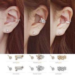 Ticoo - Rhinestone Ear Cuff