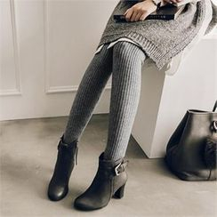 JOAMOM - Rib-Knit Leggings