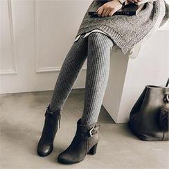 JOAMOM - Rib-Knit Leggings