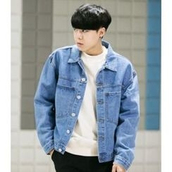 ABOKI - Denim Washed Jacket
