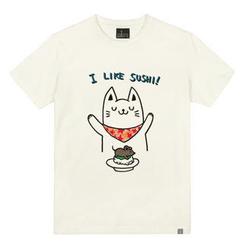the shirts Cat & Mouse Print T-Shirt