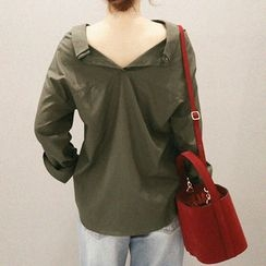 NANING9 - Cotton Blend Shirt