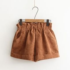 Aigan - Corduroy Shorts