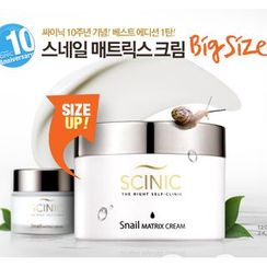 SCINIC - Snail Matrix Cream 120ml