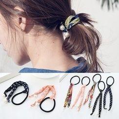 Aokuna - 珍珠印花髮圈