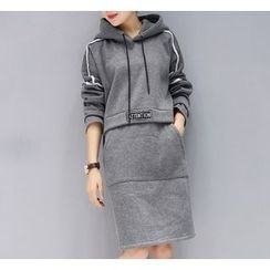 Dream Girl - Long-Sleeve Hoodie Dress