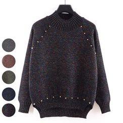 Tulander - 缀饰混色针织毛衣