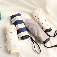 三木青禾 - 印花五折叠雨伞