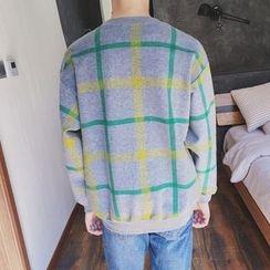 Soulcity - Check Sweatshirt