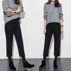 Yumerakka - Cropped Wide Leg Pants