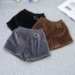 Oh My Love - Faux-Fur Shorts