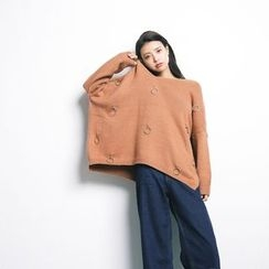 Porta - Loose-fit Knit Top