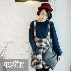 Tokyo Fashion - Houndstooth Jumper Skirt