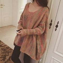 Dream Girl - Melange Long Sweater