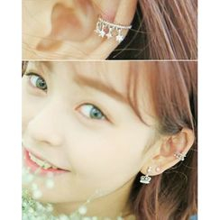 Miss21 Korea - Rhinestone Single Ear Cuff