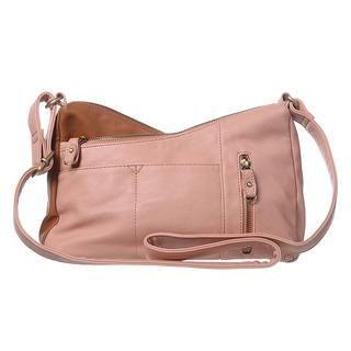 ans - Two-Tone Crossbody Bag