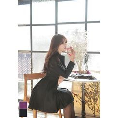MyFiona - Wool Blend A-Line Coat