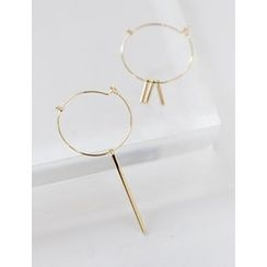 FROMBEGINNING - Non-Matching Hoop Earrings