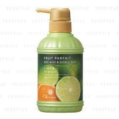 House of Rose - Fruit Parfait Body Wash and Bubble Bath Lime and Orange