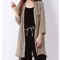 X:Y - V-Neck Long Shirt