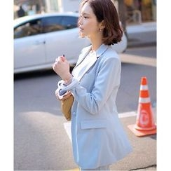 Mariposa - Set: Plain Blazer + Dress Pants