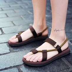 MR.GONG - Couple Matching Slide Sandals