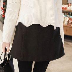 mimi&didi - Zip-Side Flap-Front Shorts