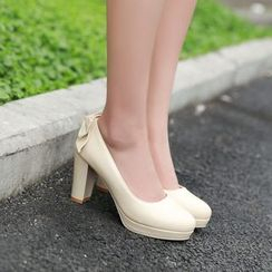 Pastel Pairs - Bow Pumps
