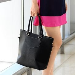 59th Street - Faux Leather Tote