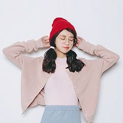 Meimei - Plain Cardigan