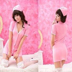 Cosgirl - 護士內衣角色扮演服套裝