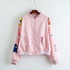 TOJI - Printed Zip Jacket