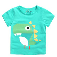 lalalove - Kids Printed Short-Sleeve T-shirt