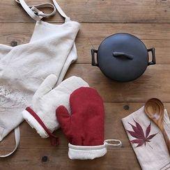 三木青禾 - 配色边烤箱手套