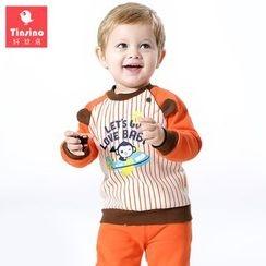 Tinsino - Baby Set: Printed Pullover + Pants