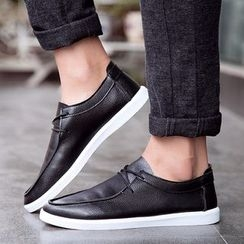 Artree - Faux Leather Casual Shoes